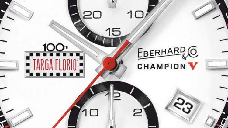 Eberhard & Co Champion V Targa Florio Special Edition Watch Dial