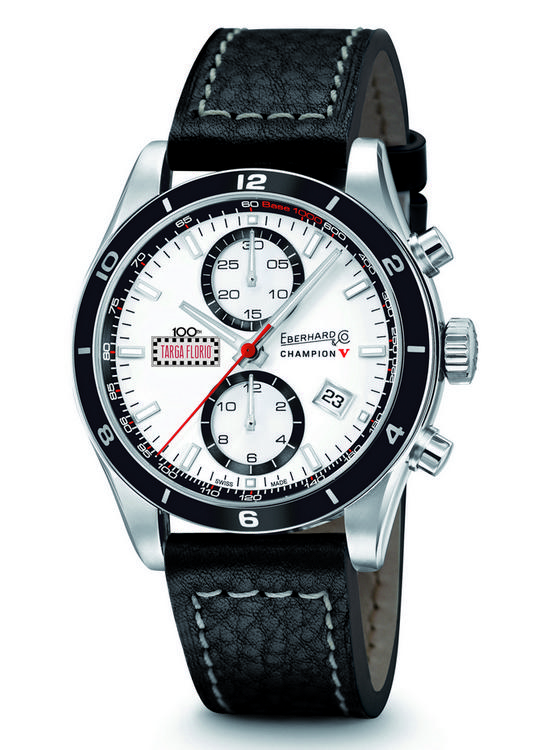 Eberhard & Co Champion V Targa Florio Special Edition Watch Front