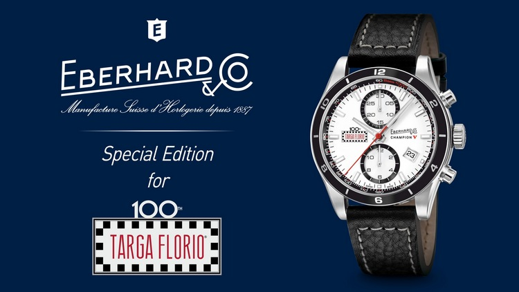 Eberhard & Co Champion V Targa Florio Special Edition Watch