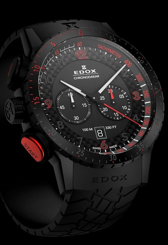 Edox Chronodakar Limited Edition 2013 Watch