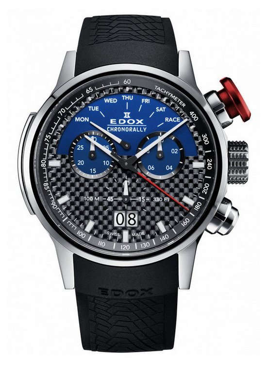 Edox Chronorally Sauber F1 Team Limited Edition Watch Front