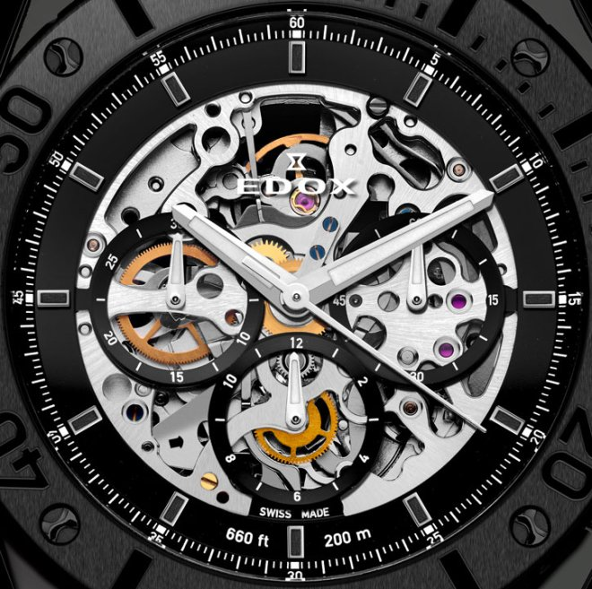 Edox Ghost Ship Limited Edition Watch Dial