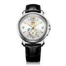 Emile Chouriet Lac Leman Dual Time White Dial Watch