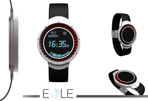 Eole Concept Watch by Julien Moise