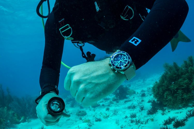 Eterna Super KonTiki Chronograph Watch