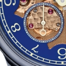 F.P. Journe Chronomètre Bleu Byblos Watch Dial Detail