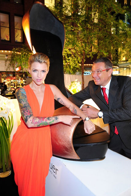 Ruby Rose and Jean-Christophe Babin