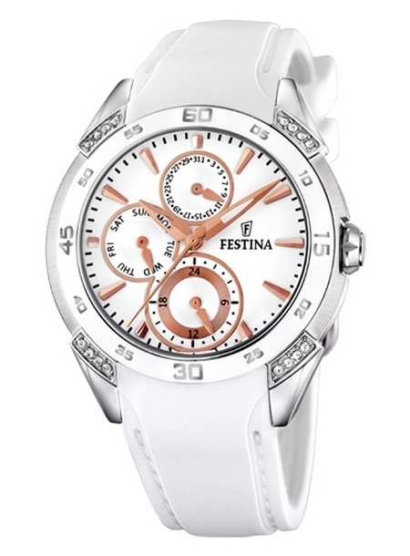 Festina Ceramic Multifunction Ladies' Watch F16394/3