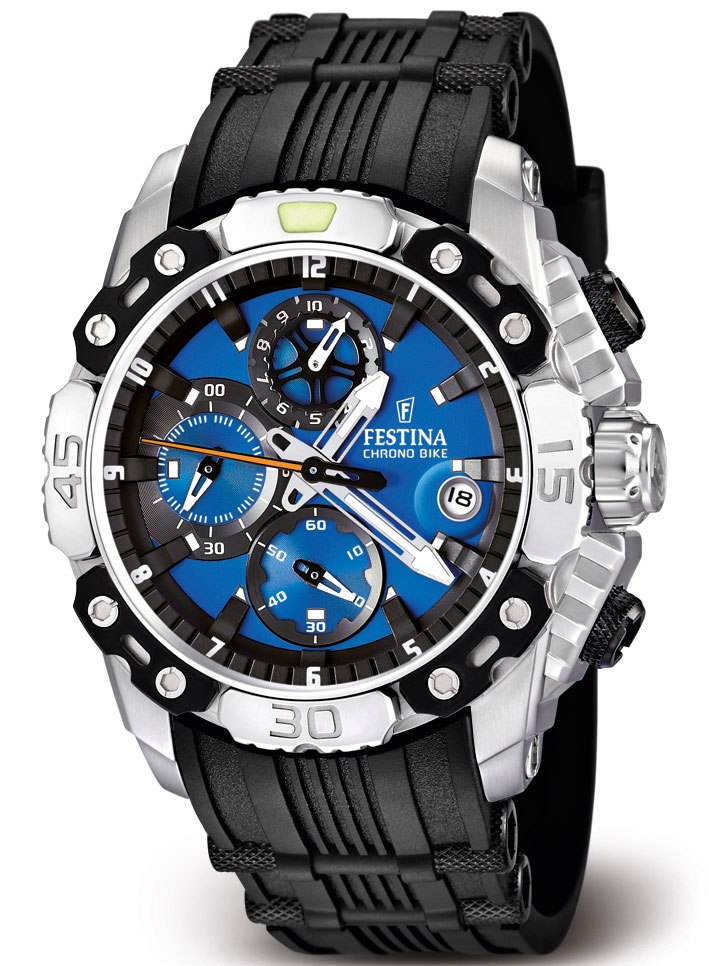 Festina Chrono Bike Tour de France 2011 Watch Light Blue