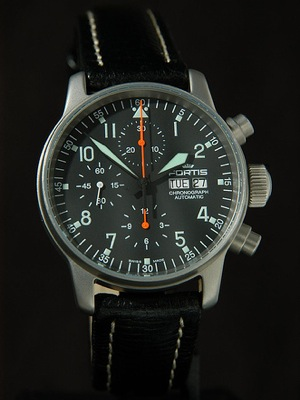 Flieger Automatic Chronograph Watch Review