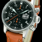 fortis-flieger-automatic-chronograph-brown-strap