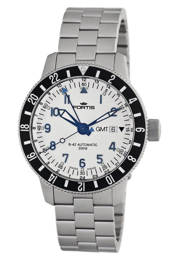 Fortis B-42 Diver GMT 3 Time Zones Watch