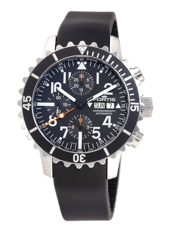 fortis-b-42-marinemaster-chronograph-front