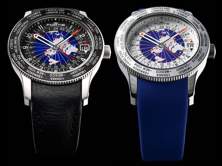 Fortis B-47 World Timer GMT Limited Edition Watches