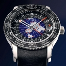 Fortis B-47 World Timer GMT Limited Edition Watch Black