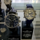 Fortis F-43 Fleiger Chronograph Alarm GMT C.O.S.C. Exhibition