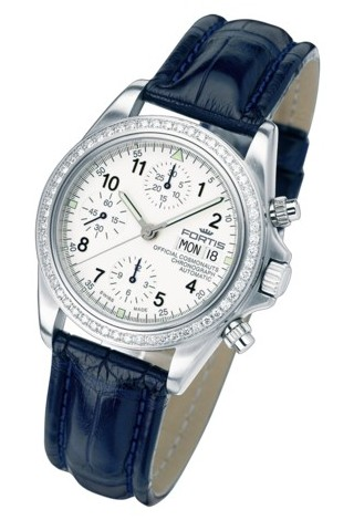 Fortis Official Cosmonauts Chronograph Diamond Watch 6301412