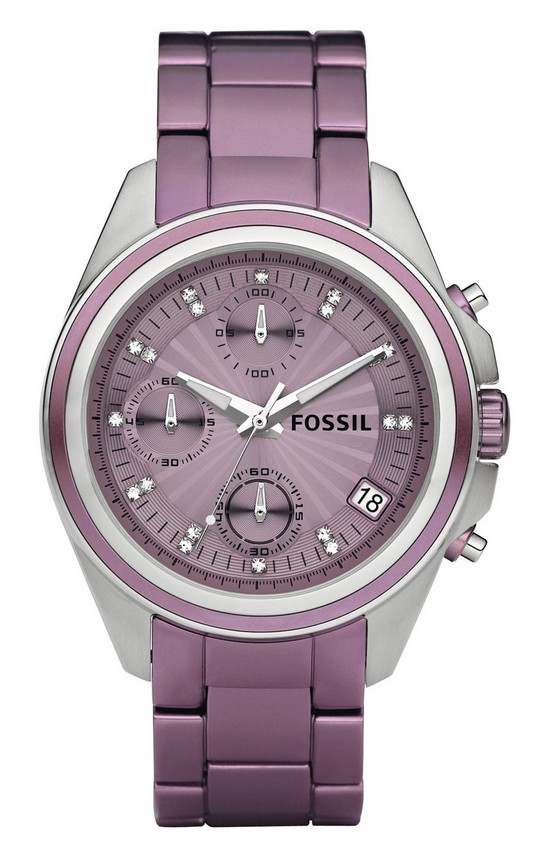 Fossil Decker Boyfriend Aluminum Watch ES2916