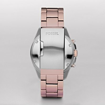 Fossil Decker Boyfriend Aluminum Watch ES2915