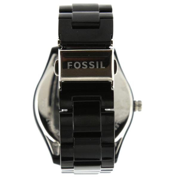 Fossil Multifunction Black Stella ES2157 Watch back view