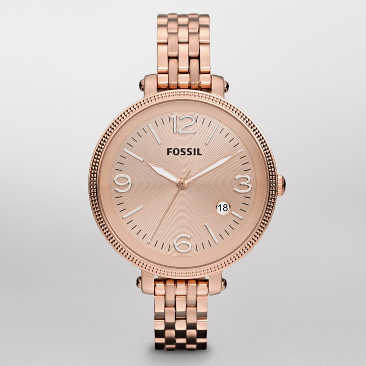Fossil Heather Stainless Steel Watch Rose