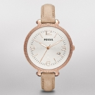 Fossil Heather Leather Watch Sand
