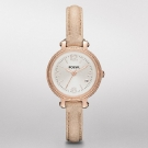 Fossil Heather Mini Leather Watch Sand