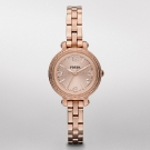 Fossil Heather Mini Stainless Steel Watch Rose