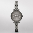 Fossil Heather Mini Stainless Steel Watch Smoke