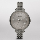 Fossil Heather Stainless Steel Watch Smoke