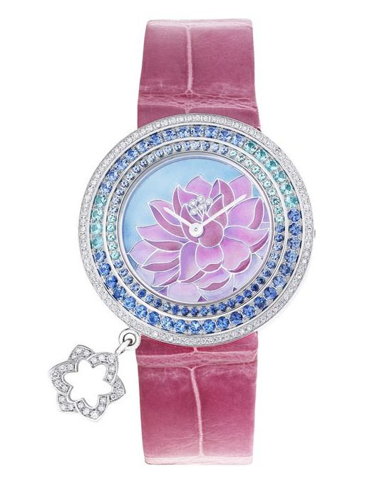 Van Cleef & Arpels Charms Extraordinaire Lotus Watch