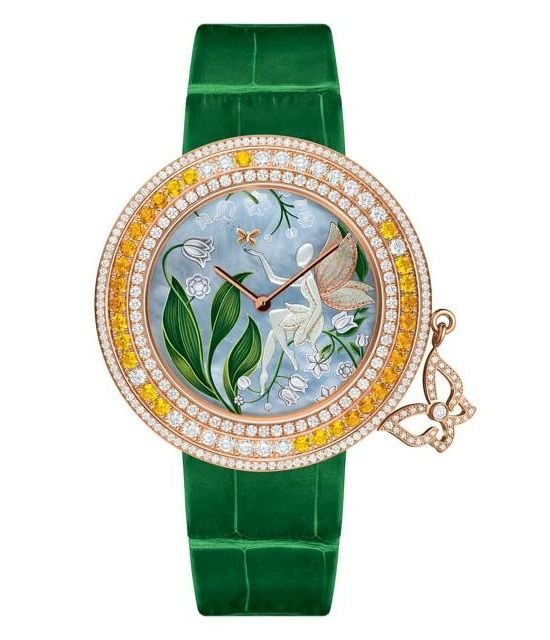 Van Cleef & Arpels Charms Extraordinaire Muguet Watch