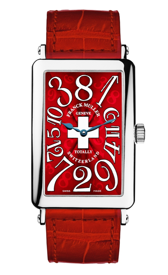 Franck Muller Crazy Hours Totally Switzerland Watch