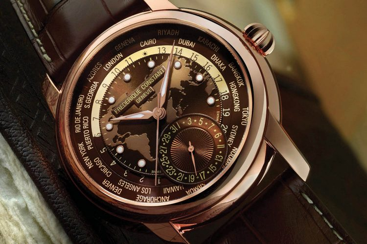 Frederique Constant Classic Worldtimer Manufacture Watch