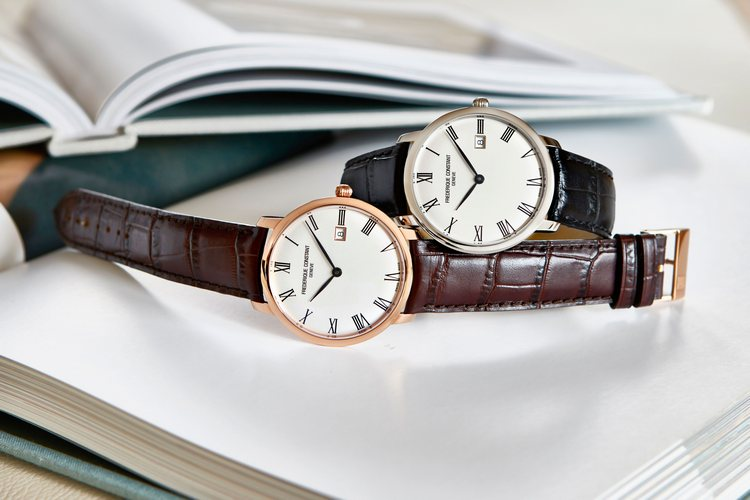 Frederique Constant Slimline Automatic Watch Pair