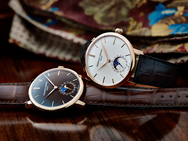 Frédérique Constant Slimline Moonphase Manufacture Watches