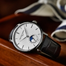 Frédérique Constant Slimline Moonphase Manufacture Silver Dial Watch