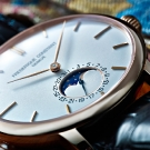 Frédérique Constant Slimline Moonphase Manufacture Watch Detail