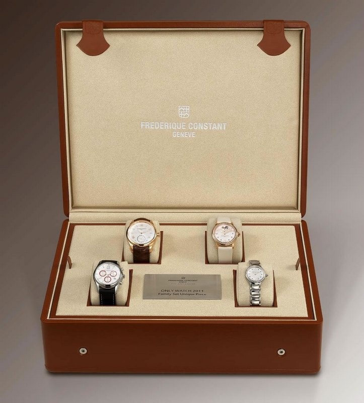 Frédérique Constant - Unique Family Set for Only Watch 2011 Gift Box