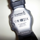 Garmin Forerunner 610 Sport Watch Back