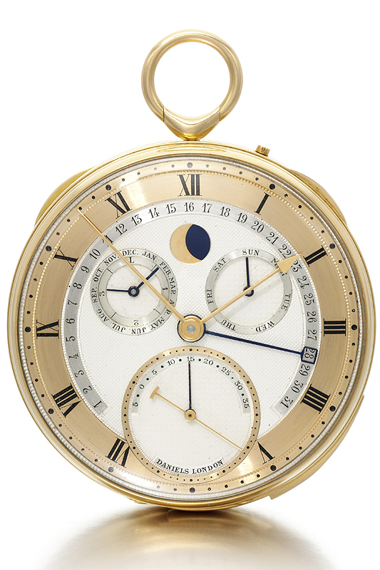 George Daniels' Grand Complication Pocket Watch