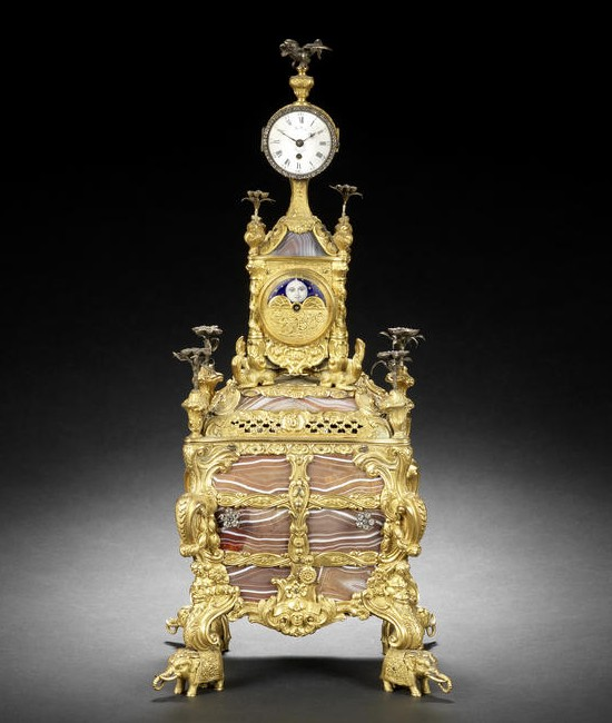 James Cox Musical Clock