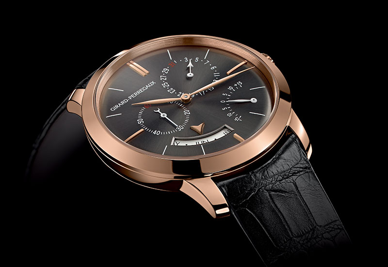 Girard-Perregaux 1966 Annual Calendar and Equation of Time Rutherium Watch