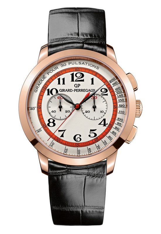 Girard-Perregaux 1966 Chronograph Doctor's Rose Gold Watch