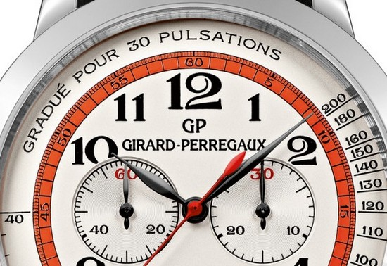 Girard-Perregaux 1966 Chronograph Doctor's Watch Dial