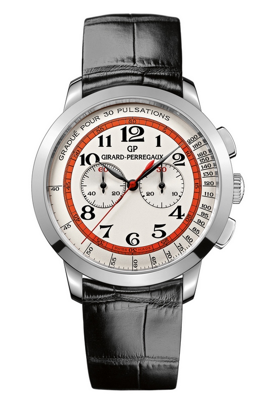 Girard-Perregaux 1966 Chronograph Doctor's White Gold Watch