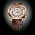 Girard-Perregaux 1966 Dual Time Brown Leather Watch