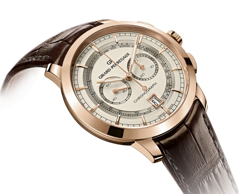 Girard-Perregaux 1966 Integrated Column-Wheel Chronograph Watch
