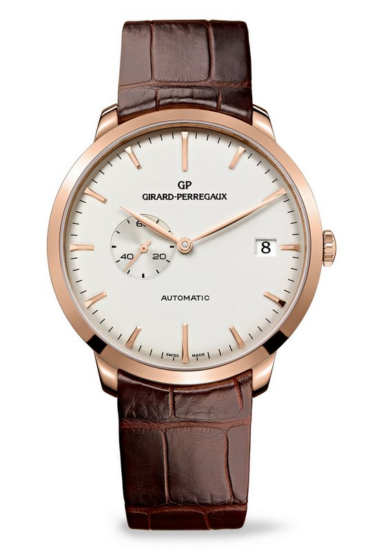 Girard-Perregaux 1966 Small Seconds and Date Watch 49543-52-131-BKBA