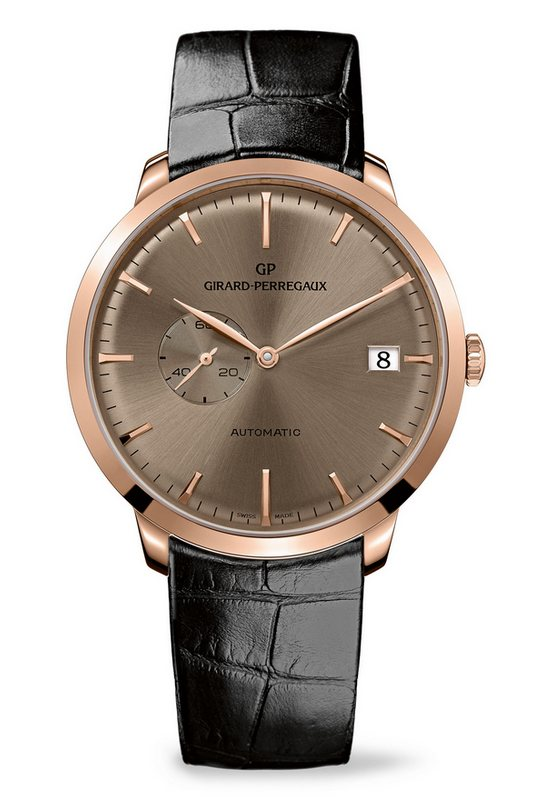 Girard-Perregaux 1966 Small Seconds and Date Watch 49543-52-B31-BK6A
